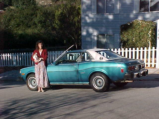 Nicole Corren S 1976 Toyota Celica Gt