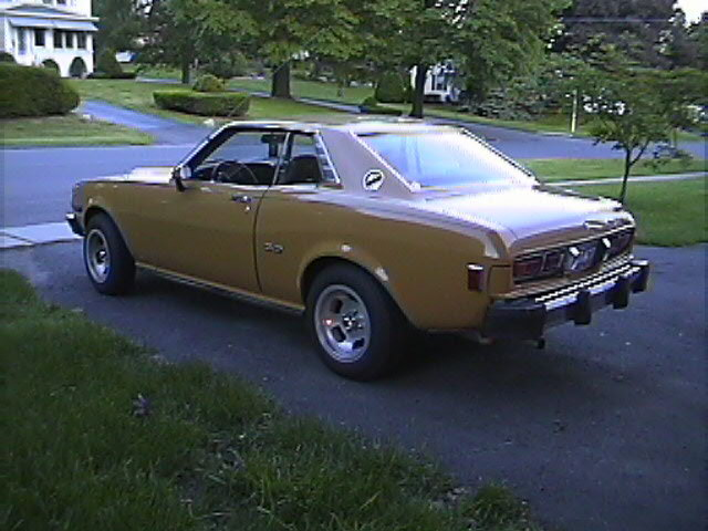 Timothy Howell S 1976 Celica Gt Coupe