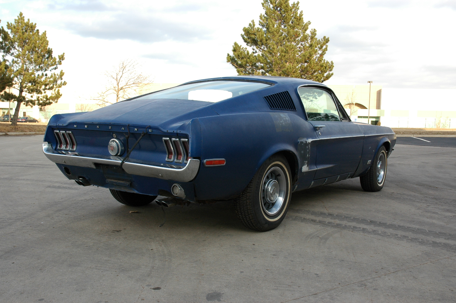 68 Mustang Project Fastback Autos Post